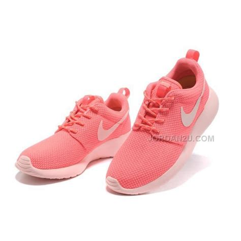 nike pink shoes nike roshe run womens shoes breathable summer pink price