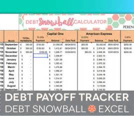 Debt Spreadsheet Template by Debt Payoff Spreadsheet Debt Snowball Excel Credit Card