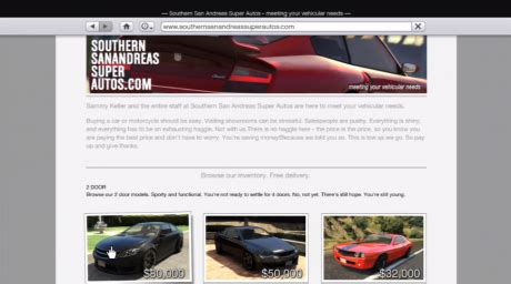 southernsanandreassuperautos grand theft auto v websites
