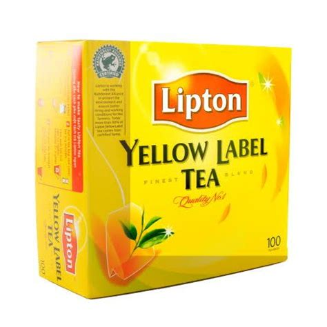 Teh Lipton Yellow Label Tea lipton yellow label tea 100 bags spice boat leigh on sea