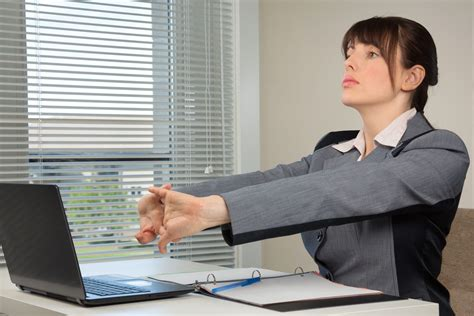 exercise at your desk 5 exercises to do at your desk