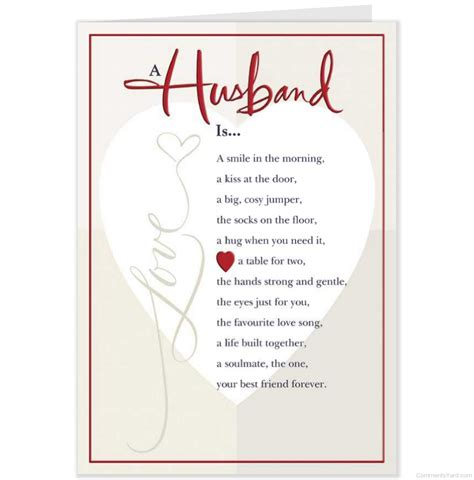 valentines day for husband card for husband valentinesday