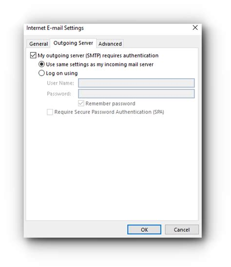 outgoing mail server how do i enable smtp authentication for email client