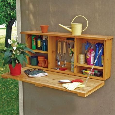Backyard Storage Ideas 1000 Ideas About Garden Tool Storage On Pinterest Shed Ideas Small Sheds And Pallet Storage