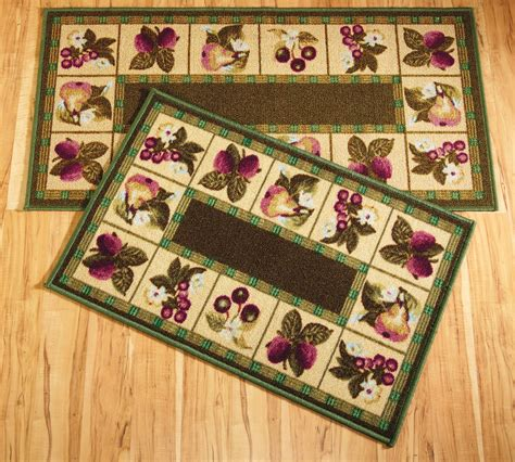 Kitchen Rugs Fruit Design Fruit Kitchen Rugs 19x32 Slice Wedge Kitchen Rug Mat Green Washable Mats Rugs Fruit Grapes