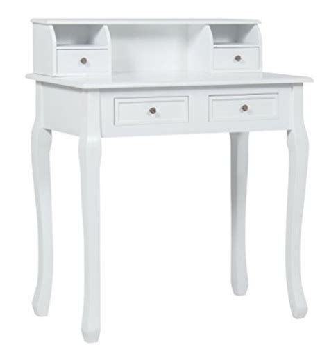white writers desk white writing desk with drawers for writing in your