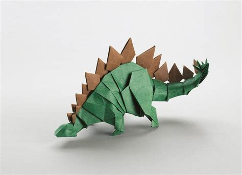 Origami Stegosaurus - the origami of joseph wu montecristo