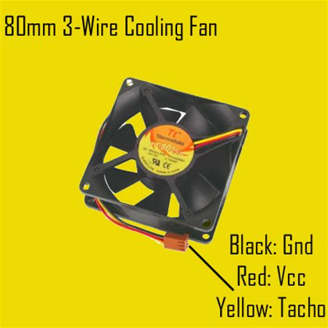 3 wire cpu fan 3 wire fan monitor circuit