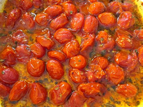 roasted tomatoes recipe roasted tomatoes marinated and roasted cherry tomatoes