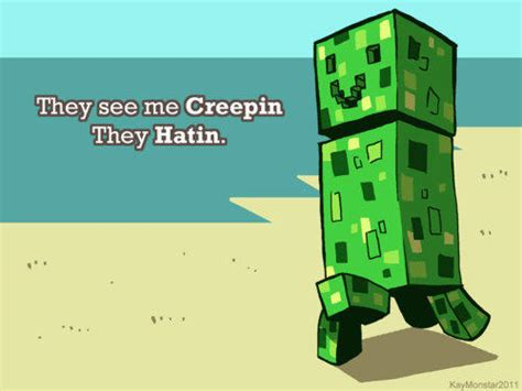 Minecraft Creeper Memes - image 154882 minecraft creeper know your meme