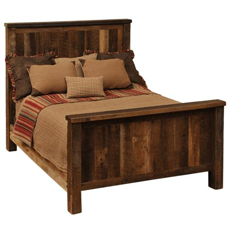 barnwood beds rustic beds queen size barnwood traditional complete bed