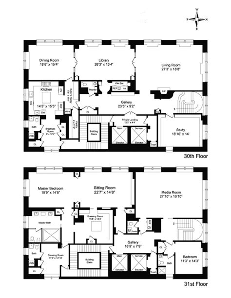 new york condo floor plans 515 park ave 30 31 condo apartment sale in lenox hill