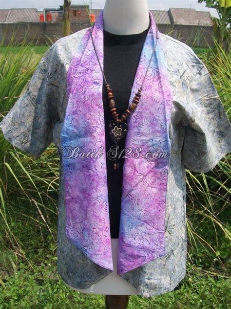 Batik Cap Asli jual bolero batik cap asli model modern dan bolero