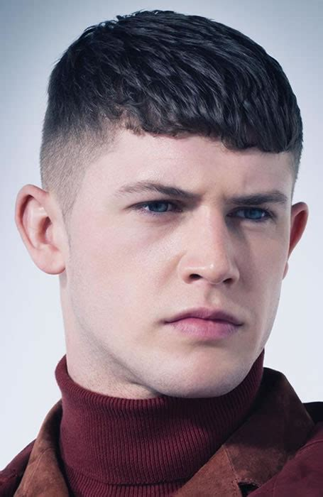 Mens Blunt Haircuts | 33 of the best men s fringe haircuts fashionbeans