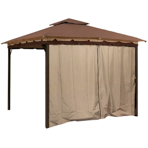 Pavillon 3x4 Mit Seitenteilen by Gazebo Canopy Tent Privacy Side Wall Panel Fits 10 X 12
