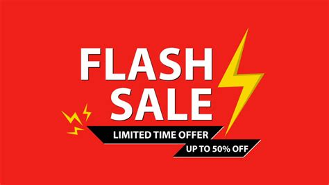 flash sale limited time offer stock footage video