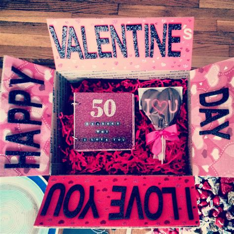 valentines gift for boyfriend regalos sencillos para san valent 237 n doors box and gift