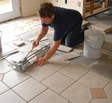 Floor Tile Installation Installing Decorative Tile Borders Images