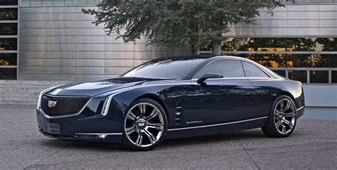 future cadillac cadillac elmiraj sports coupe concept shows future luxury