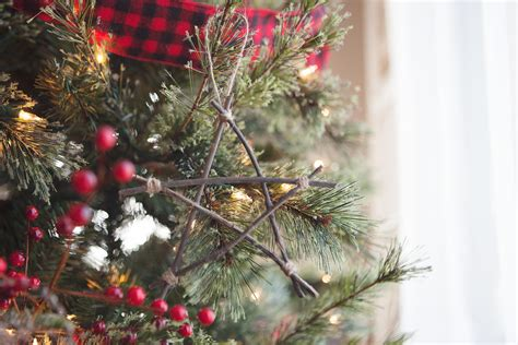 how to make rustic twig christmas ornaments my decor