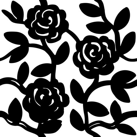 rose pattern clipart clipart rose pattern