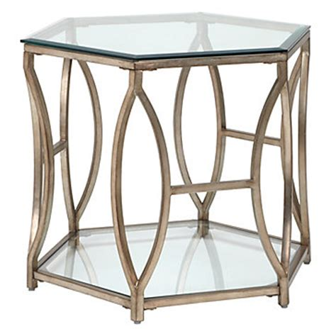 z gallerie end tables brooke hexagonal end table sp16 living5 living room