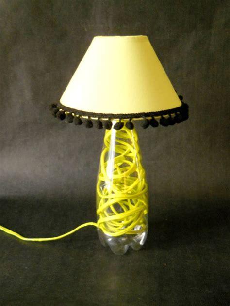 plastic bottle lamp recyclart