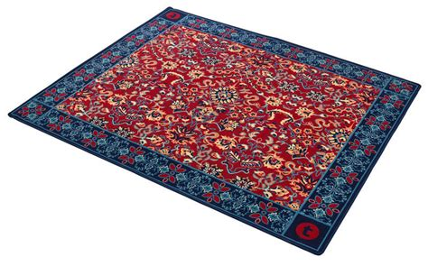 Oriental Drum Rug by Thomann Drum Rug Oriental Blue Thomann United States