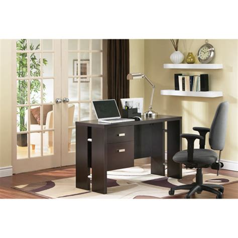 chocolate brown computer desk element contemporary computer desk chocolate brown
