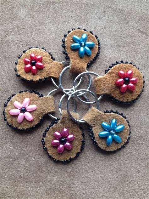 beadwork keychain small keychains by alaska beadwork alaska beadwork