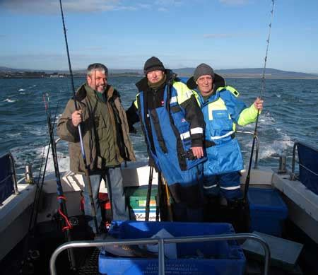 charter boat fishing dublin new angling charter vessel for wicklow an irish angler