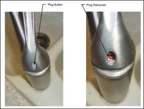 How To Tighten A Kitchen Faucet Handle Repairing Kohler Faucet