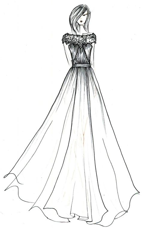 clothes design easy black label wedding gowns by anne barge a sketched