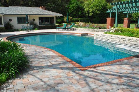 Patio Pavers Around Above Ground Pool High Resolution Pool Decking Ideas 1 Above Ground Pool