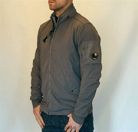 Cp Jaket Grey cp company grey pro tec jacket with arm lens jackets from designerwear2u uk