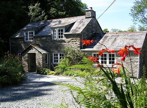 cornish cottage set in 7 acres with trout fishing