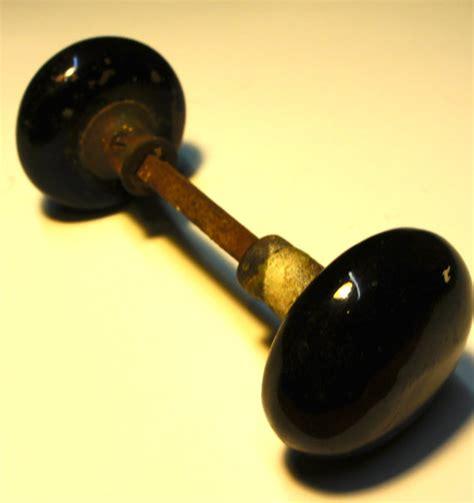 Enamel Door Knobs by Price Reduced Antique Black Enamel Door Knob By Willowosborne