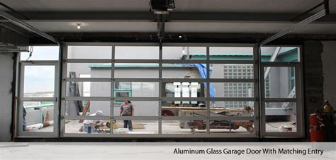 Aluminum Glass Garage Doors by Aluminum Glass Garage Doors In Nyc New York Gates