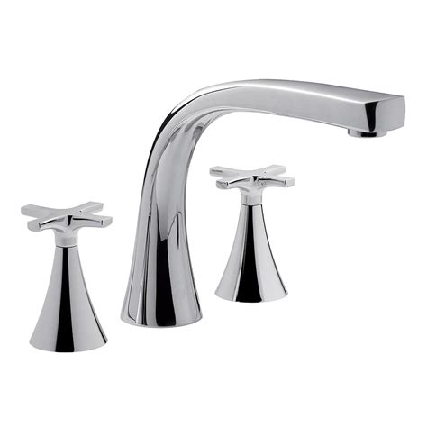 deck mounted bathtub faucets deck mounted tub faucet wall mount bathtub faucet with
