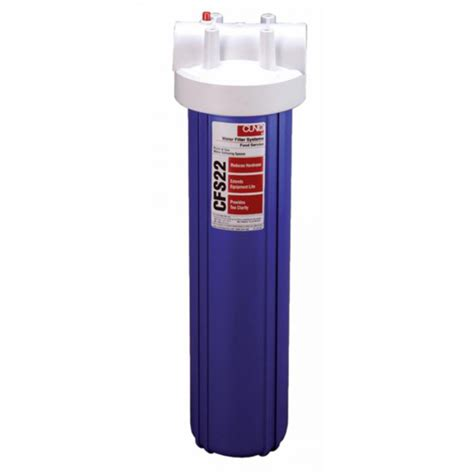cuno water filter cuno cfs22 whole house water filter housing