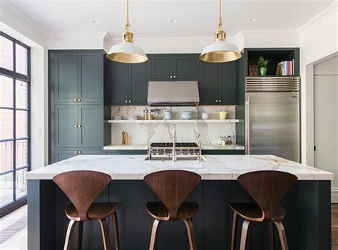 bored of white kitchens discover the cabinet color