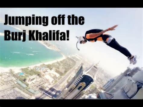 jumping off the burj khalifa!!! youtube