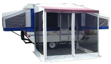 Rv Awning Shade Screen Tent Trailer Add A Room Campiing Pinterest