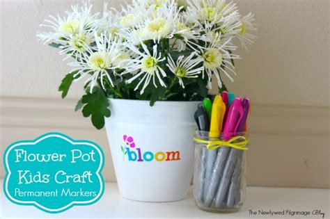 flower pot kid craft crafts archives skills