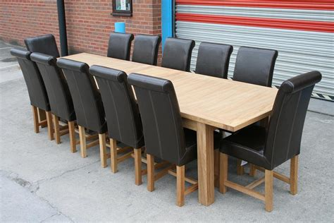 12 seater oak dining table butterfly extending tables extending oak dining tables