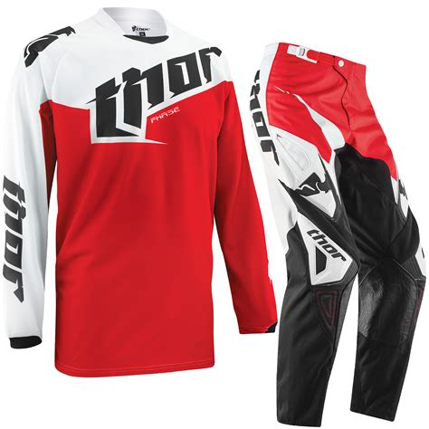 Jersey Set Trail Cros 2 thor phase 2015 tilt motocross enduro dirt pit bike jersey kit ebay