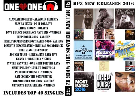 s day releases 2016 mp3 new releases 2016 week 02