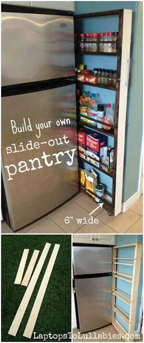 Build Your Own Pantry by Laptops To Lullabies Build Your Own Slide Out Pantry Handmade Home Stove