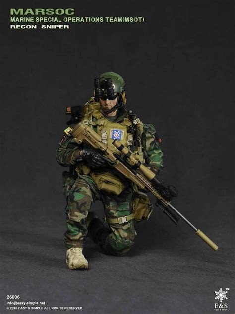 Easy And Simple Marsoc easy simple 26006 marsoc msot recon sniper 1 6 scale preview simple and snipers