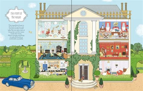 a doll s house book royal doll s house sticker book english books for kids harper collins publishing bookids